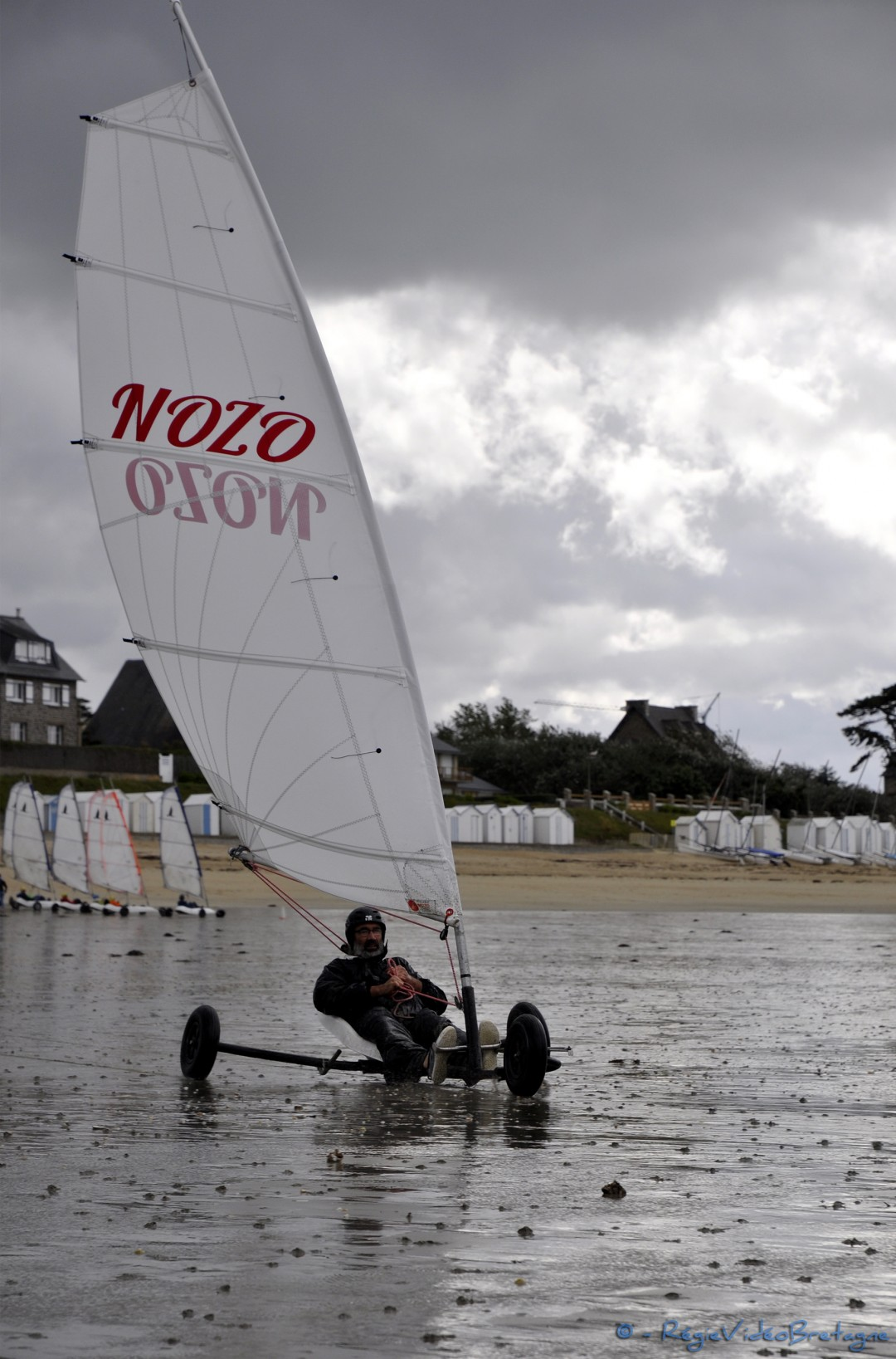 Voile Char à voile Voilerie NOZO compatible Seagull, Airtrack